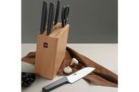 Набор ножей с подставкой Xiaomi Youth Edition Kitchen Stainless Steel Knife Set 6in1